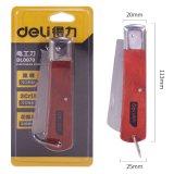得力 DL0070 电工刀 木柄直刃电工刀