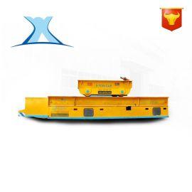 智能升降平台电动轨道车手动轨道遥控液压升降平板车定制