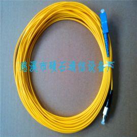 双芯光纤跳线,单芯光纤跳线 光纤活动连接头生产