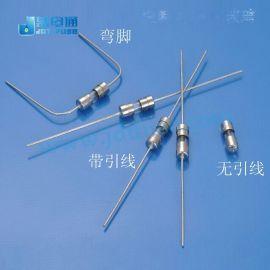 玻璃保险丝3.6*10 带引线5A\250v台产集电通电流保险丝管工厂批发