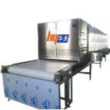 隧道式微波幹燥機 廣東連續式微波烘幹設備 化工粉體無揚塵幹燥