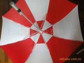 铝合金伞杆双层高尔夫伞 纤维骨铝合金拉簧伞架高尔夫伞广告伞