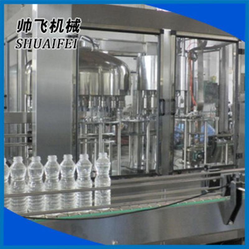 食品機械飲料灌裝機 飲料灌裝機械 玻璃水灌裝機