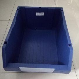 厂家直供A6塑料零件箱 斜插口零件盒 现货标准尺寸零件箱厂家供应