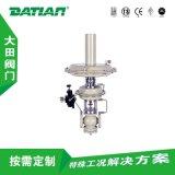 自力式压力调节阀、压力调节阀、自力式温度调节阀