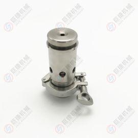 不锈钢 正负压力控制卫生级调节排气阀规格