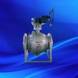 上海沪工Q347H不锈钢涡轮球阀 涡轮不锈钢固定球阀  DN300
