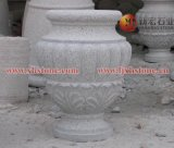 石雕花盆容器