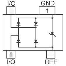 USB2.0接口浪涌保护阵列PJSR05 PSR05,SR05,