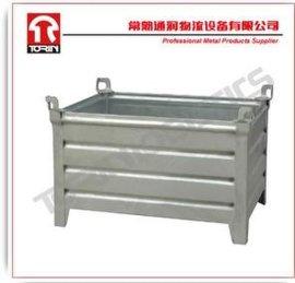 铁制板条周转箱热镀锌