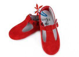 爆款 鞋 一件代发 童鞋批发女童单鞋公主鞋厂家直供 儿童牛皮鞋