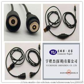 电子产品专用磁吸连接器,厂家直销磁铁连接线,异形磁吸充电线 磁铁式连接器