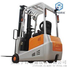 小型电动叉车 1吨1.5吨三支点平衡重式堆高车
