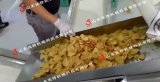 小型土豆片油炸成套設備,濟寧土豆片油炸機