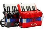 飛繁樂器-17鍵8貝司手風琴