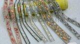 金属水钻链条烫胶网钻爪链烫钻背胶水钻链双尖水钻
