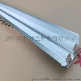 供应T5 LED双带日光灯一体化支架