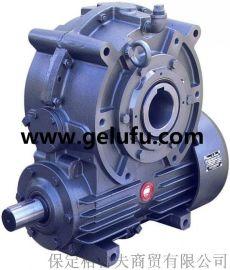 WD型(蜗杆下置)为一级传动的阿基米德圆柱蜗杆减速器