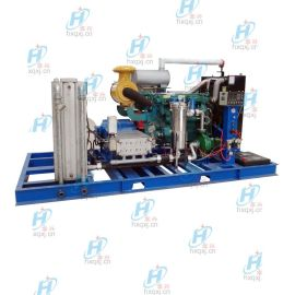 1500KG超高压冷水流高压清洗机 钢厂换热器清洗机 宏兴牌