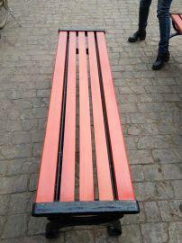 张家口公园椅 风景环卫cz-5878 户外长条椅 长凳 木质休闲椅 批发大量保洁三轮车