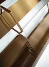 不锈钢钛**格,展厅花格,镀钛异形花格
