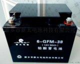 新乡市新太电池12V38AH固定型免维护阀控式密封铅酸蓄电池