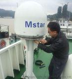 观光游轮用船载卫星电视天线Mstar