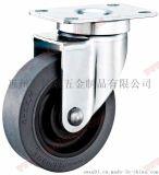 导电脚轮 灰色TPR导电轮 高品质TPR防静电脚轮厂家 佳顺脚轮