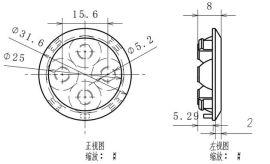 TIR透镜设计 COB透镜  LED照明设计