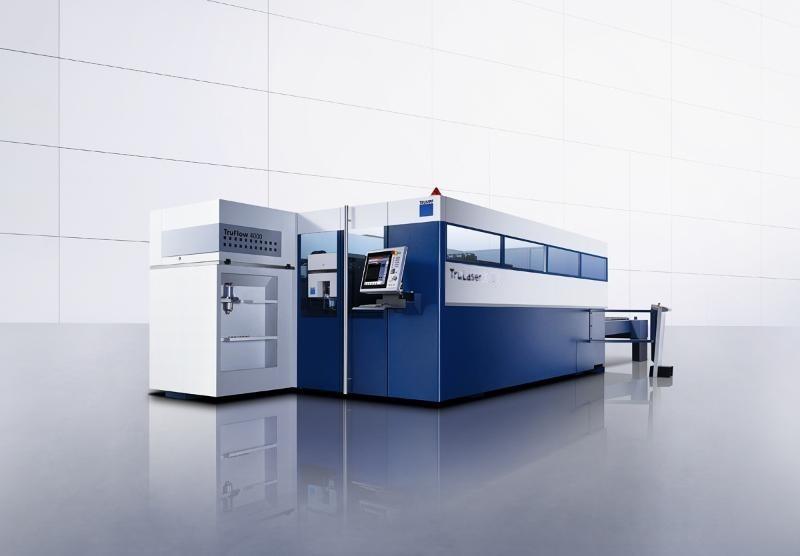 全新德国通快激光切割机TruLaser 3030 (库存机)