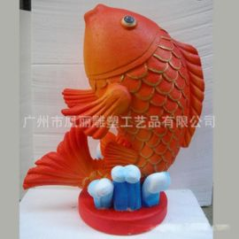 卡通泡沫摆件 玻璃钢雕塑艺术春节主题 泡沫卡通雕塑