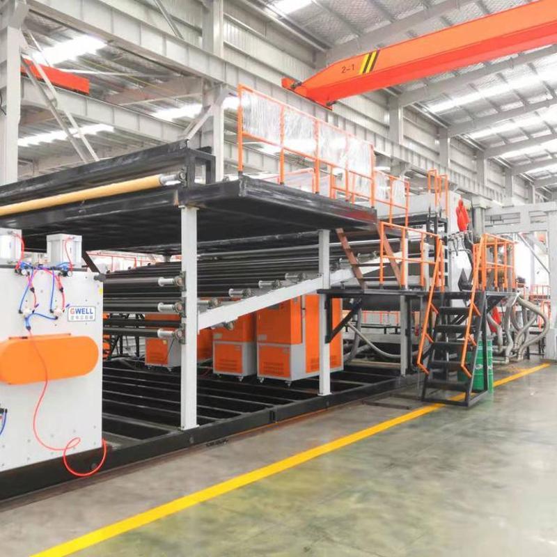 蘇州金韋爾透明PC導光板材生產線