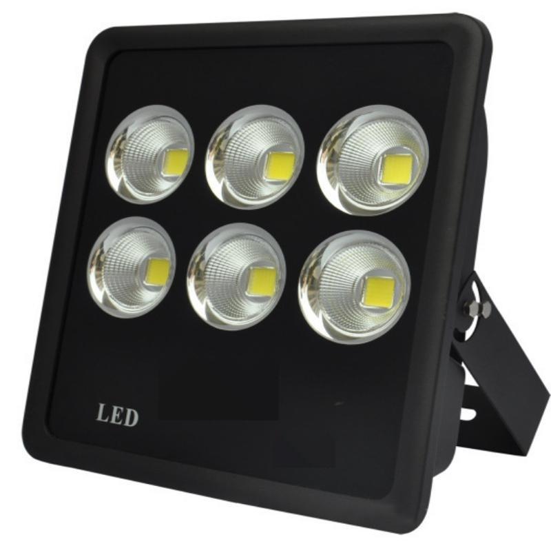 現貨供應led投光燈外殼 300W長方聚光投光燈 全鋁壓鑄泛光燈外殼