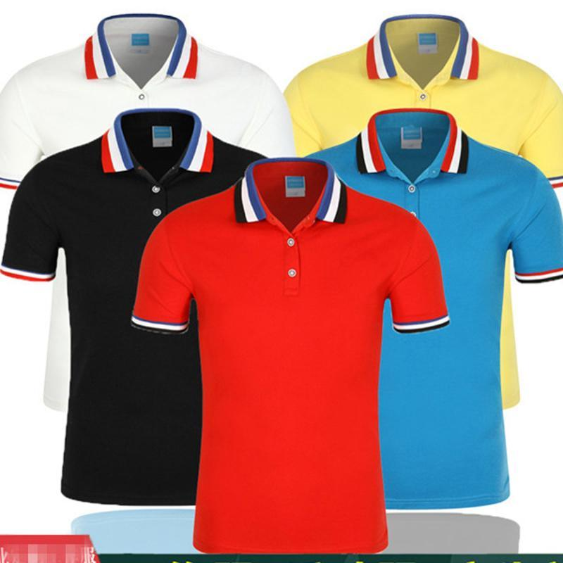 POLO衫定制工作服团体聚会广告文化衫T恤班服短袖可印制公司logo