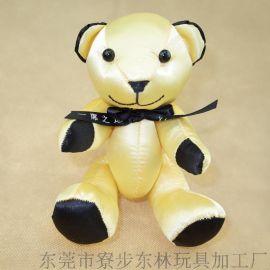 关节熊公仔玩具 吉祥物礼品公仔 订制加工布料玩具
