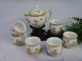 陶瓷茶具批发零售, 厂家直销陶瓷茶具