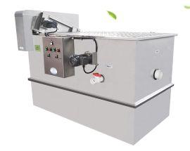 厂家直销加工SUS304不锈钢隔油池全自动酒店餐饮厨房用隔油器