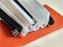 u型橡胶边缘保护条 防撞u型橡胶包边条