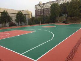 崇左塑胶篮球场 宁明硅PU篮球场建设材料 康奇体育