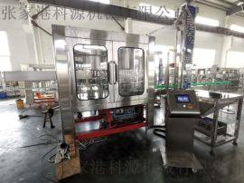 科源机械GF系列食用油二合一灌装机生产线