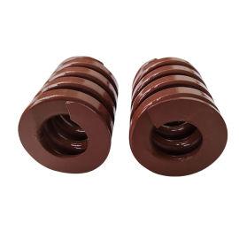 茶色模具彈簧 進口合金鋼彈簧 TB加重負荷彈簧