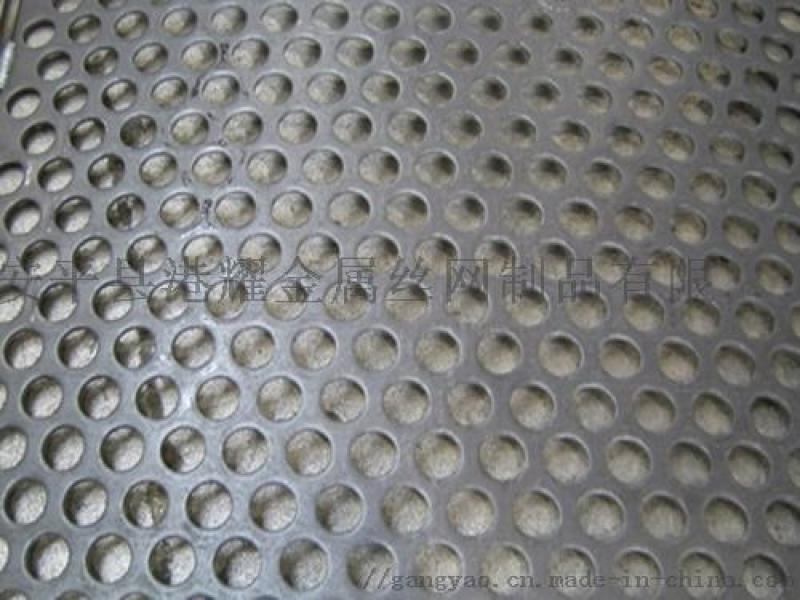 不鏽鋼衝孔網, 圓孔衝孔網