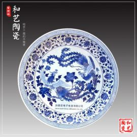80cm陶瓷海鲜分格大盘子厂家