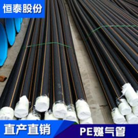 PE燃气管山东阳谷恒泰包设计运输开沟焊接回填交工合格