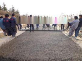 混凝土透水摊铺机 沥水材料整平机型号