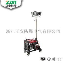 SFW6110全方位自动泛光工作灯4*500w 4.5米气动遥控升降照明车自动升降工作灯