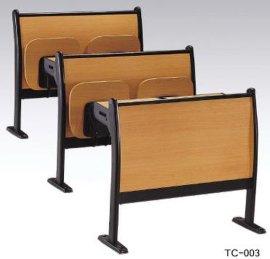 培训椅广东课桌椅学校椅子单人课桌椅双人课桌椅阶梯教室椅