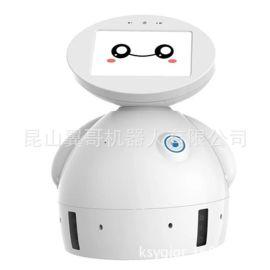 雷大白1型智能机器人 语音对话视频 儿童益智陪伴远程遥控高科技