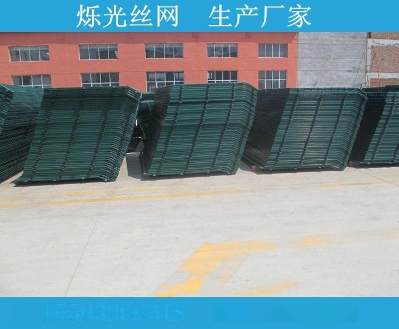 绿色铁丝围栏网 河道河北护栏网 圈地养殖防护网全国供应