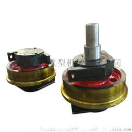 定做圆/平角箱车轮组350直径联轴器传动车轮 沈阳